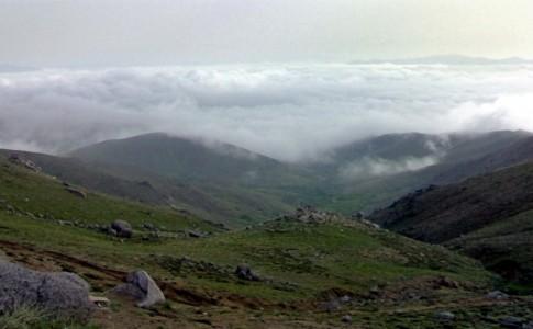 برفراز ابرها در مسیر دشت میشان