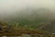 در مسیر میشان، دره عباس آباد در مه