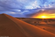 طلوع در کویر مصر