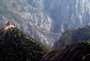 قلعه کنگلو در نزدیکی غار اسپهبد خورشید