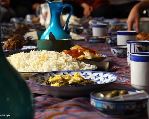 غذای محلی در گیله بوم