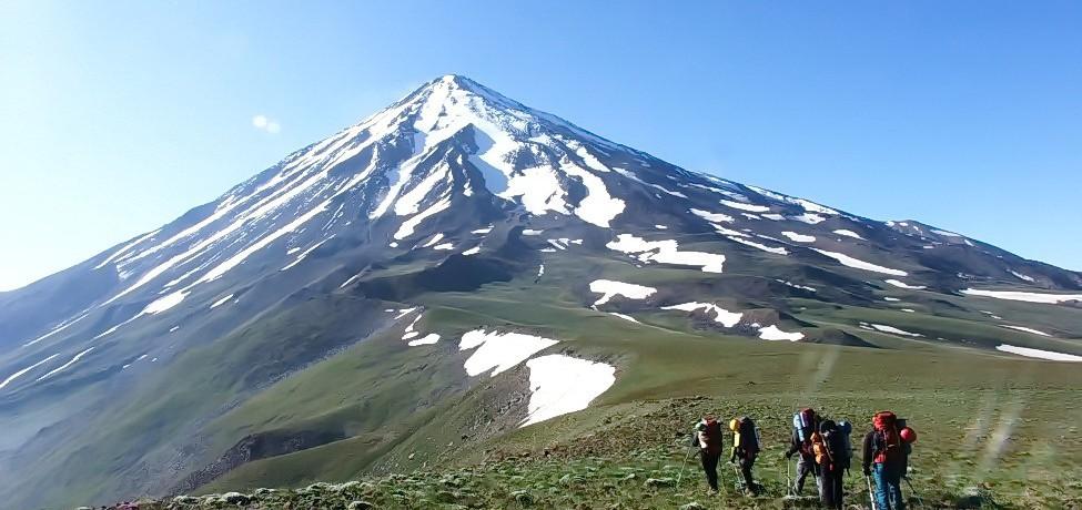 کوهنوردی یال داغ دماوند